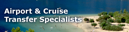 Airport and Cruise Transfer specialists!